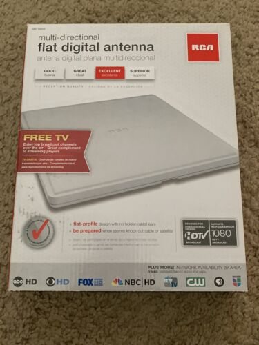Audiovox ANT1400R White Digital Home Theater Antenna - Quant