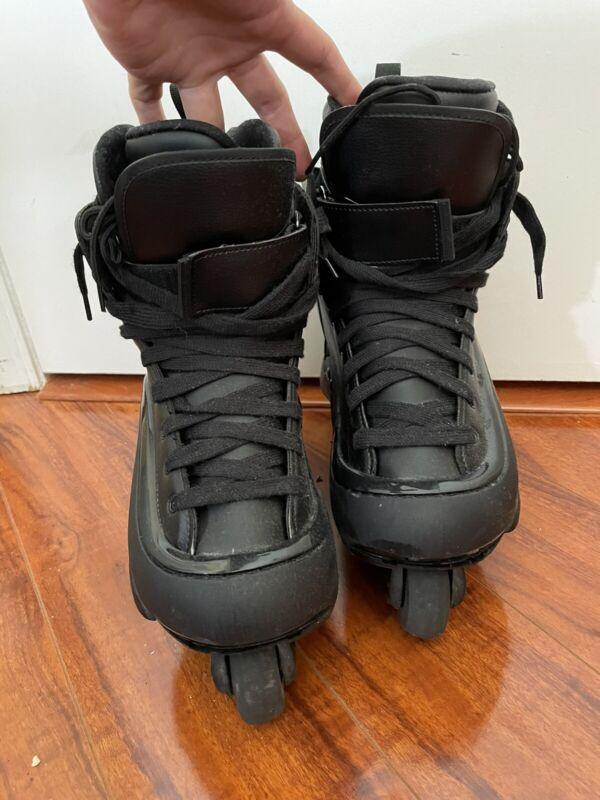 Remz HR 2.5 Aggressive Inline Skates Mens Black Size US 10.5 Used