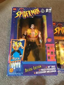 Spiderman the animated series toys from the 90s Windsor Region Ontario image 2