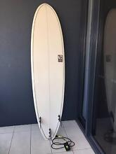 BARELY USED Liquid Lines 7'6 Surfboard Broadbeach Gold Coast City Preview