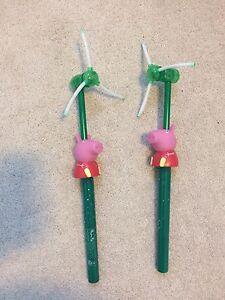 Peppa Pig - Flash LED Windmill (Like New) - $15 for Both