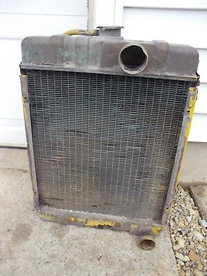 International Cub 154 Low Boy Tractor Ih Good Working Radiator Assembly