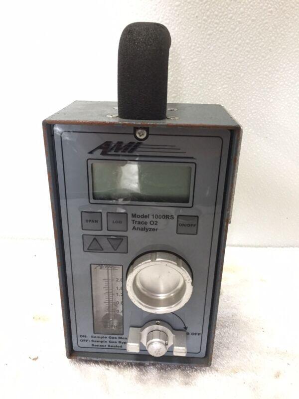 AMI 1000RS Portable Trace O2 Analyzer.