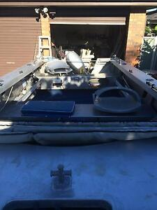 Aluminum fishing boat Nelson Bay Port Stephens Area Preview