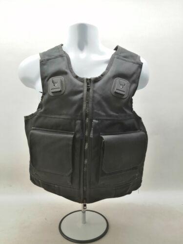 Cooneen Body Armour Overt Black Ballistic Stab Vest Security Obsolete Uniform
