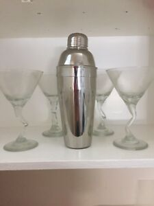 Glasses and Shaker