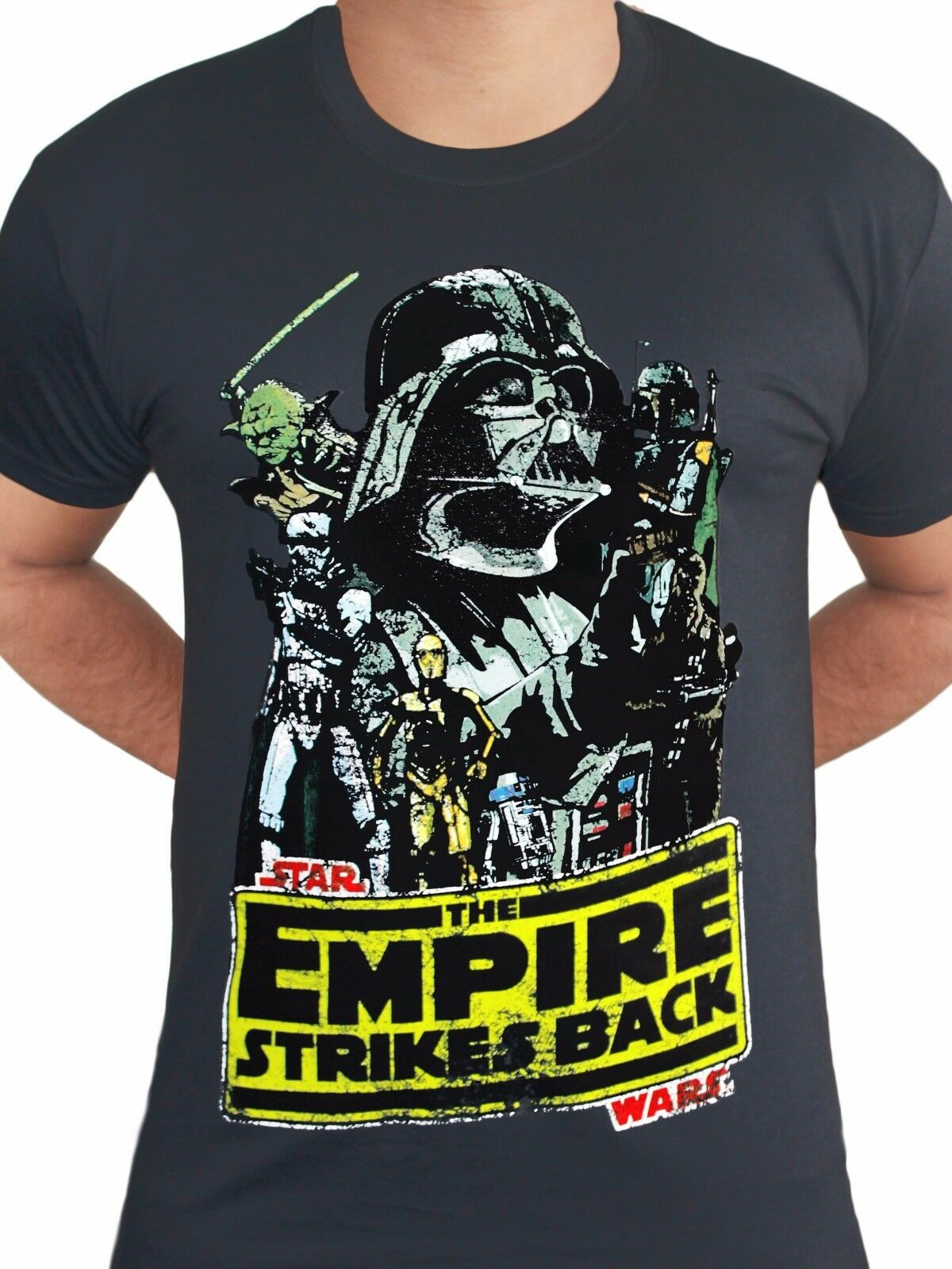 Star Wars Camiseta Oficial Imperio Contraataca Darth Vader Yoda BB8 Rogue uno