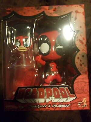 Marvel Hot Toys Deadpool & Headpool Cosbaby Collectible Set ( IN STOCK )