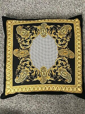 VERSACE PILLOW rare pattern