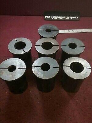 Ea Cnc Lathe Bushing Split Sleeve Reducer 3 Od Lot Of 7 Free Shipping Loc1788