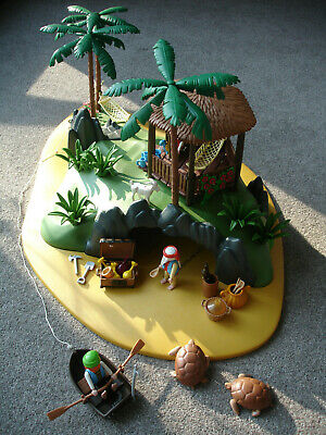 Playmobil Turtle Cove 3799 Pirate Island Complete with Box