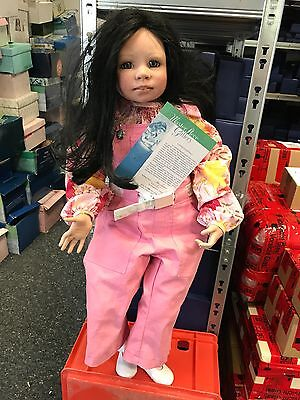 Petra Lechner Vinyl Puppe Bella 85 cm. Top Zustand