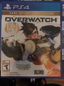 Overwatch Game of The Year Edition $50.00