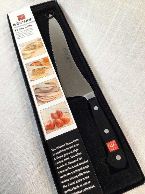 Wusthof classic serrated panini knife # 4128 / 20cm solingen germany NIB