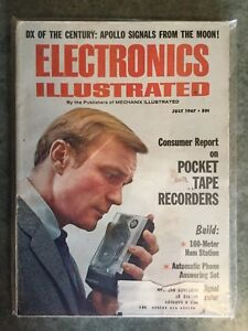 Vintage Electronics Illustrated from July 1967