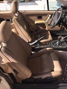 Bmw Ei 325is Sport Seat Front And Rear Heated Seats Not Tested