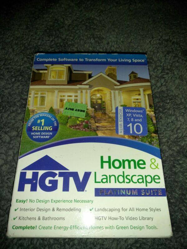 HGTV Home & Landscape Platinum Suite Version 3 Windows 41022