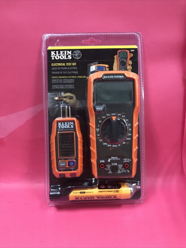 Klein Tools 69355 Multi-Meter, Voltage Tester and Outlet Tester Premium Electric