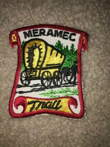 Boy Scout BSA Meramec Cave River Missouri Cut Edge Wagon Trail Patch