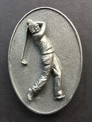 Golf, Golfer Belt Buckle, Golf Buttons, and Golf FOB Golf Golfer Belt