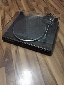 Stereo turn table record player turntable