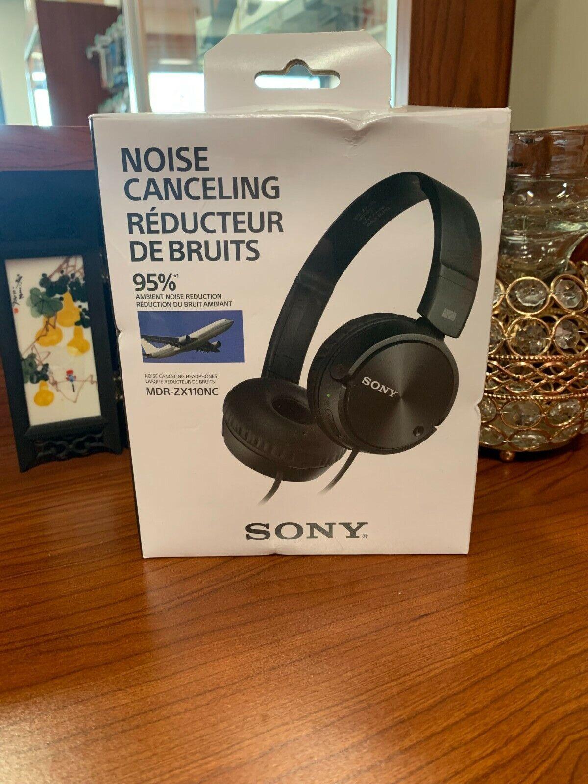 Sony MDR-ZX110NC Headband Headphones - Black - $29.99