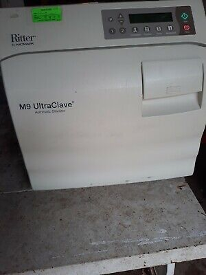 Midmark Ritter M9-022 M9 Ultraclave Automatic Sterilizer 160 Cycles