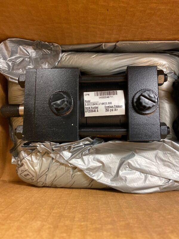 "Parker Hannifin Air Cylinder 2"" Bore .50 Stroke 2.00CC2ANLU14AC0.500"