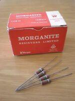 Resistenze D'epoca Vintage 1.2mohm Morganite Insulated Resistors 100pcs - vintage 1 - ebay.it