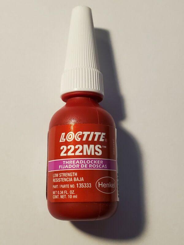 NEW Loctite 222MS Low Strength Threadlocker 10 ml