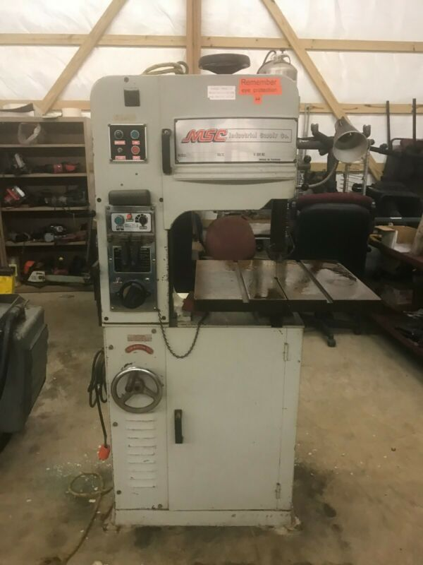 MSC by Vectrax Variable Speed Metal Cutting Bandsaw with Welder
