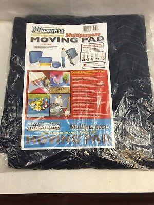Milwaukee Multipurpose Moving Blanket Pad Hott Deals - 72 X 80 - Lot Of 2