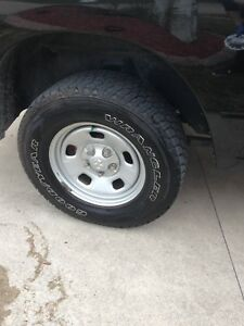 """2016 Dodge Ram 17"""" rims and tires"""