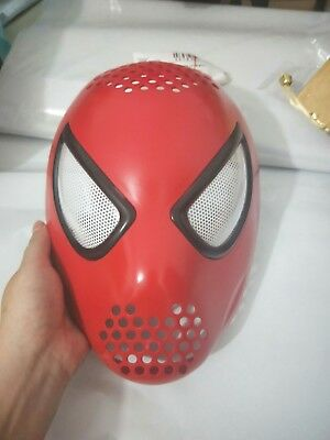 Spider-man Amazing Spiderman Faceshell with 3D Lenes Cosplay Mask Halloween Prop
