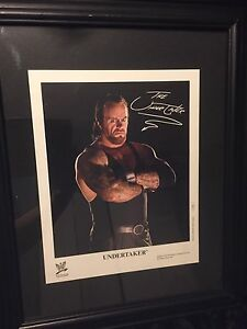 2005- The Undertaker framed picture