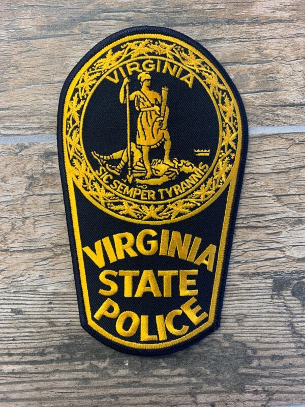 VIRGINA STATE POLICE - SHOULDER - IRON ON PATCH