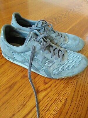 ASICS Onitsuka Tiger Ultimate 81 Gray Black Suede Sneakers MENS Size 10 Shoes