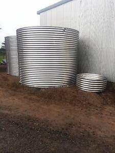 39,000 Litre Stainless Steel Rain Water Tank Melbourne CBD Melbourne City Preview