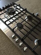 Westinghouse 6 burner stainless gas cooktop McGraths Hill Hawkesbury Area Preview