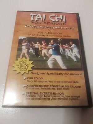 Tai Chi For Seniors Self Healing Through Movement By Mark Johnson DVD