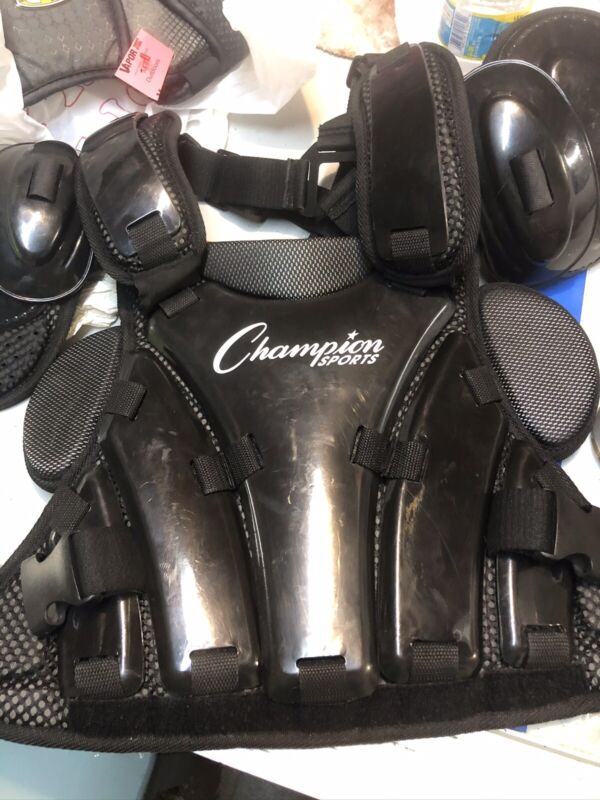 Champion Sports Umpire Chest Protector Hard Shell