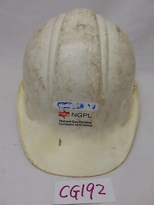 Vintage Norton Hard Hat Used-usa Made-ngpl-natural Gas Pipeline Company