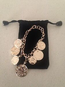 COINS BRACELET FASHION ACCESSORY Kangaroo Point Brisbane South East Preview