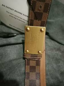 Louis Vuitton belt Brand new with certificate
