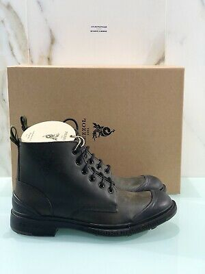 Ankle Boot Pezzol 1951 Man Model Defender Leather Greenfinch Made 42.5