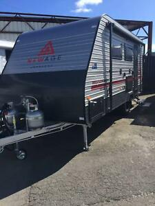 2018 New Age Road Owl 16ft Ensuite Rear Entry Adventurer Pack Youngtown Launceston Area Preview
