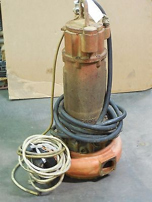 Davis Submersible Sewage Pump Fa 102-258 Motor Fk 202-417 15.4 Hp 250-460 V