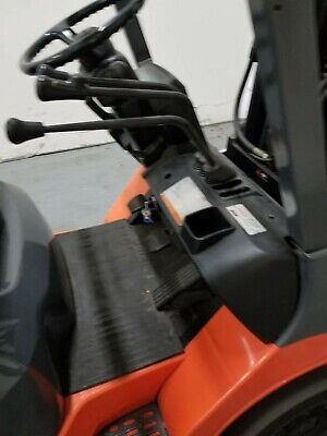 Toyota Fgcu30 Propane Forklift 3 Stage Mast Side Shift Sas Well Maintained