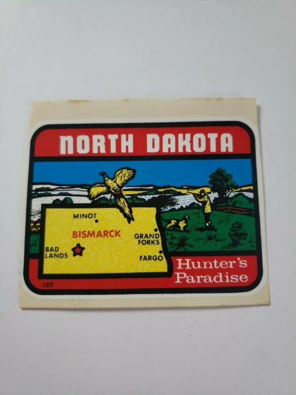 Vintage North Dakota Hunter