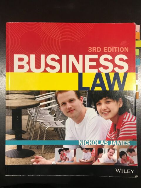 Business law 3rd edition by nickolas james wiley textbooks business law 3rd edition by nickolas james wiley textbooks gumtree australia melbourne city melbourne cbd 1189960163 fandeluxe Choice Image